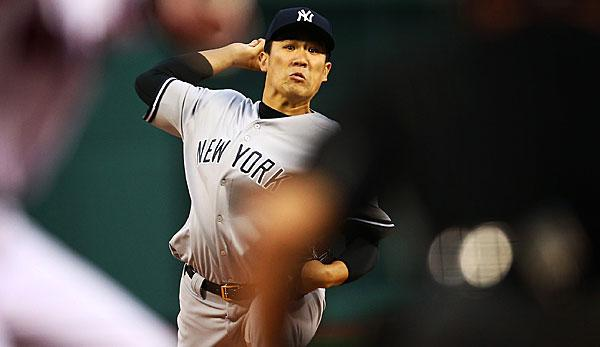 MLB: Shutout! Tanaka macht Yankees-Sweep perfekt