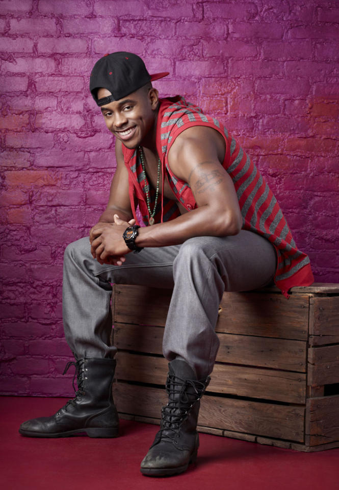 "Brandon Mitchell, 27, is a Stepping dancer from Kansas City, KS, on ""So You Think You Can Dance."""