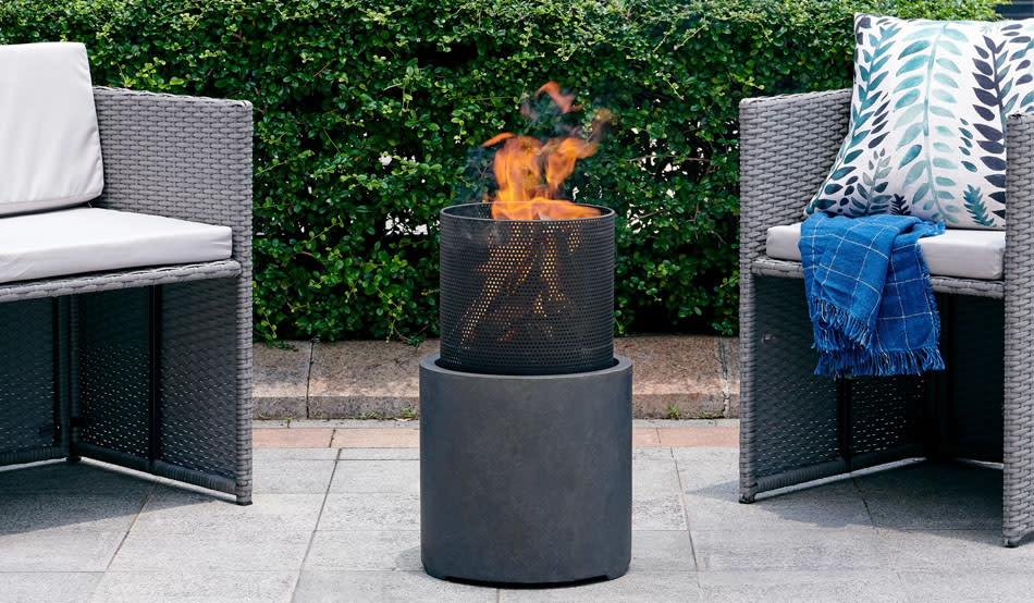 Save big bucks on fire pits, furniture for every room in the house and all the decor and kitchenware your heart desires. (Photo: Wayfair)