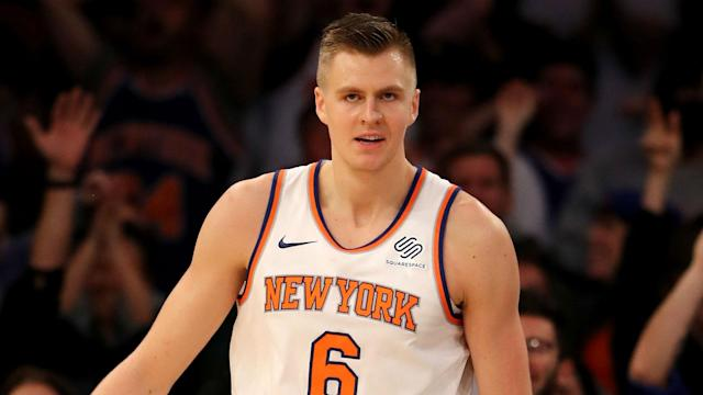 He is facing up to 10 months on the sidelines, but Kristaps Porzingis is confident he will return stronger than before.