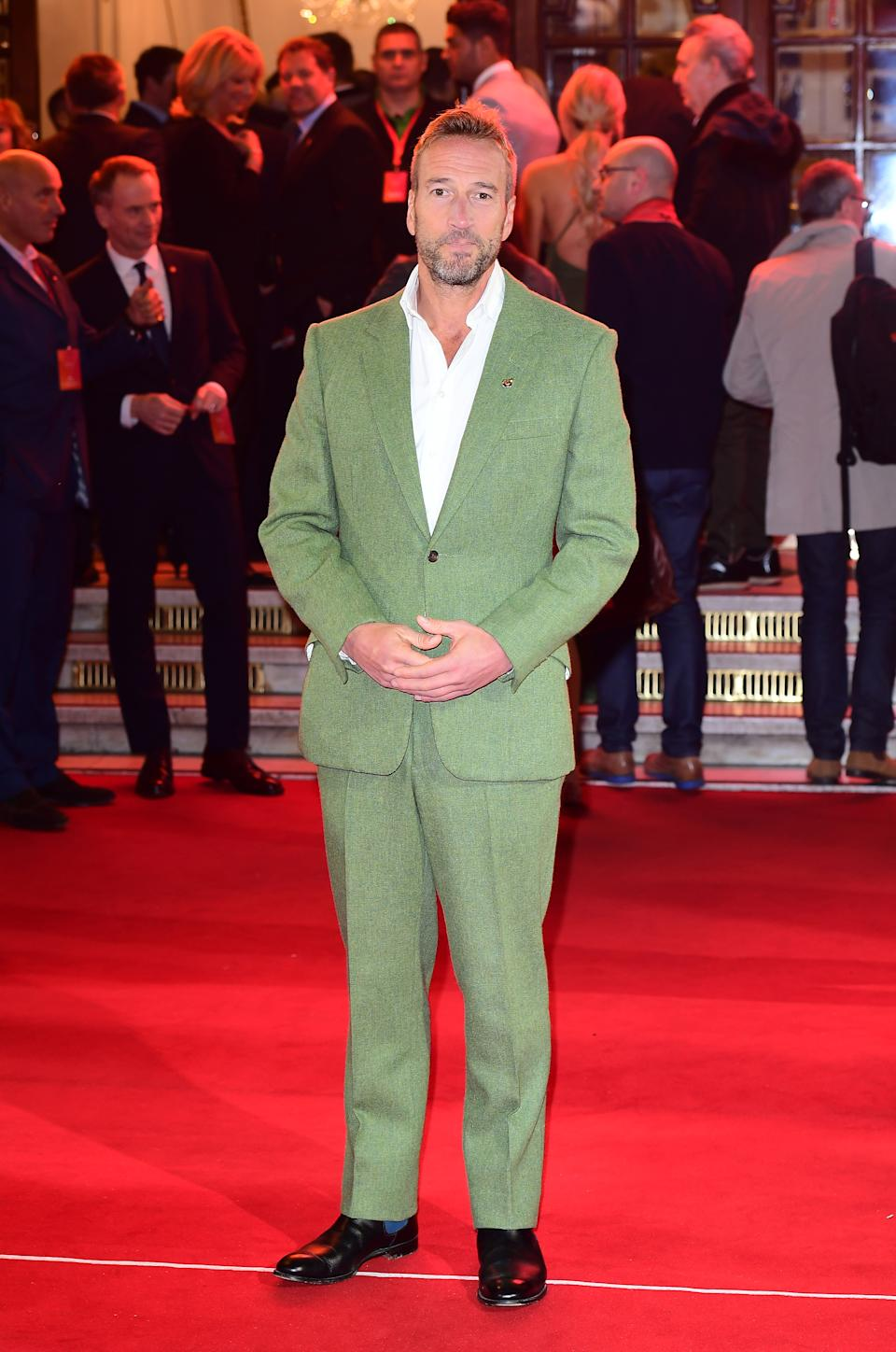 Ben Fogle attending the ITV Gala held at the London Palladium. Picture date: Thursday November 9, 2017. See PA story SHOWBIZ ITV. Photo credit should read: Ian West/PA Wire.