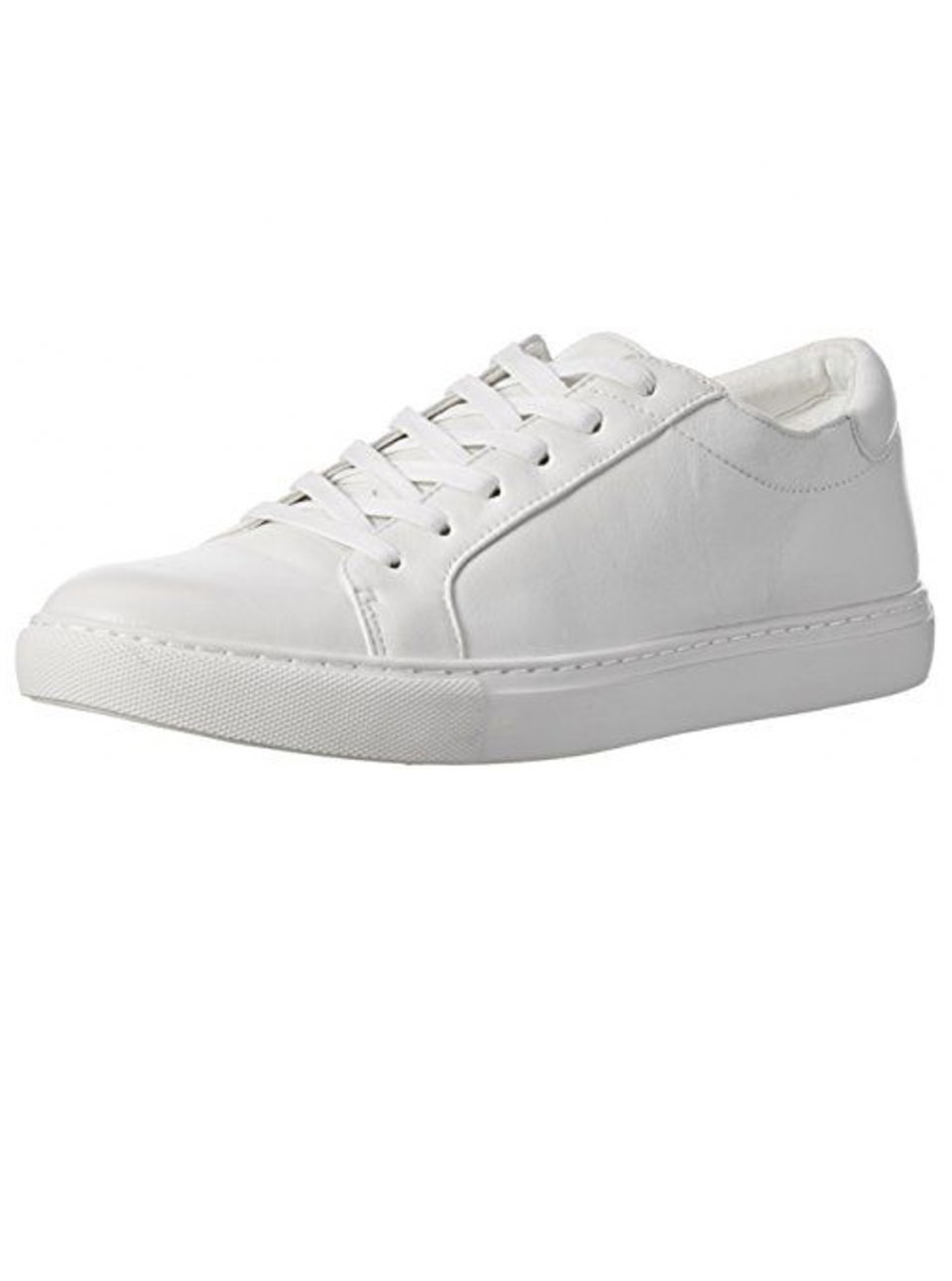 """<p><strong>Kenneth Cole New York</strong></p><p>amazon.com</p><p><strong>$58.00</strong></p><p><a href=""""https://www.amazon.com/dp/B00O4CCFQM?tag=syn-yahoo-20&ascsubtag=%5Bartid%7C10065.g.36801569%5Bsrc%7Cyahoo-us"""" rel=""""nofollow noopener"""" target=""""_blank"""" data-ylk=""""slk:Shop Now"""" class=""""link rapid-noclick-resp"""">Shop Now</a></p><p>Is there actually such a thing as too many white leather sneakers? I think not.</p>"""