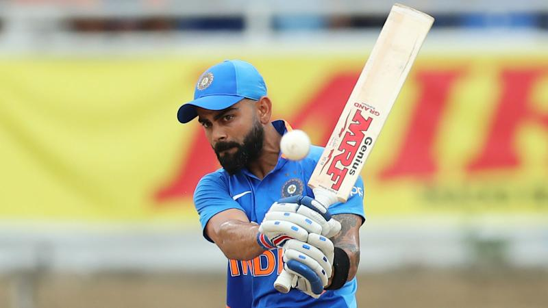 Kohli six seals India's T20 win over Sri Lanka