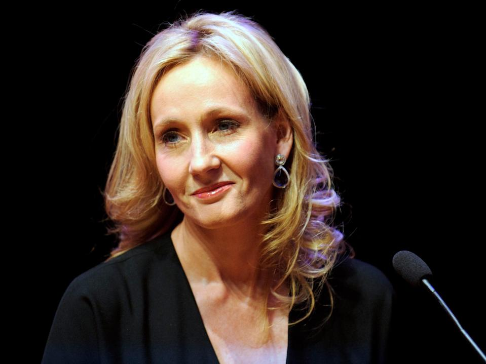 Author JK Rowling has been criticised for comments about trans people (PA)