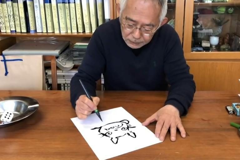 Toshio Suzuki, former president of the Tokyo-based Studio Ghibli, contributed the short video to a website intended to support children stuck at home during the coronavirus outbreak