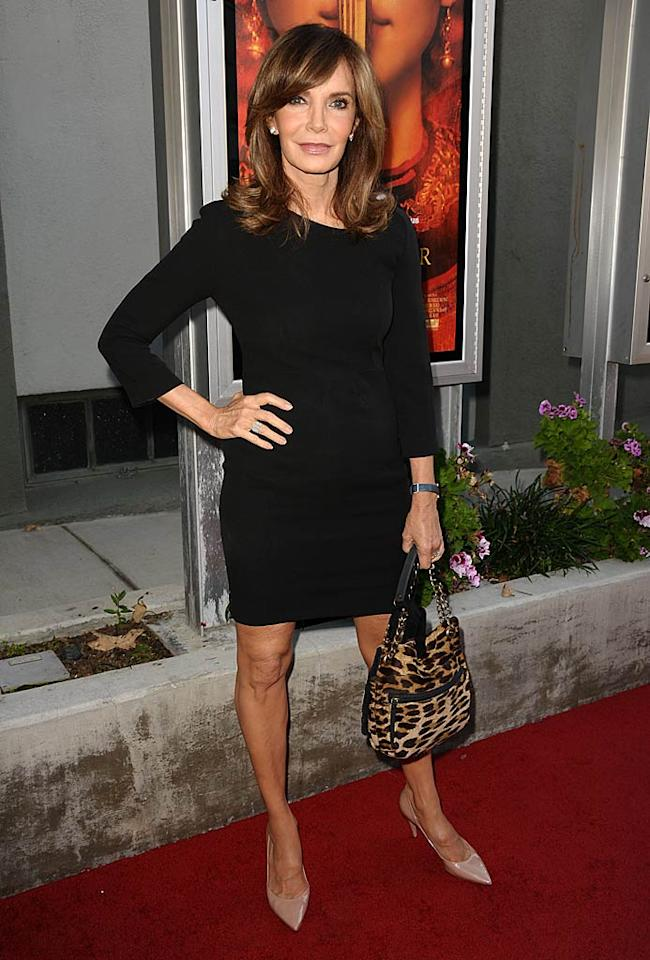 """Jaclyn Smith has still got """"it"""" at 63! The former """"Charlie's Angels"""" star strutted her stuff in an LBD at a screening of """"Snowflower and the Secret Fan"""" in Los Angeles Monday night. Wonder if the actress -- who portrayed Kelly Garrett from 1976-81 -- is excited about the """"Charlie's Angels"""" reboot set to air on ABC this fall? Jason LaVeris/<a href=""""http://filmmagic.com/"""" target=""""new"""">FilmMagic.com</a> - July 11, 2011"""