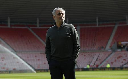 Britain Football Soccer - Sunderland v Manchester United - Premier League - Stadium of Light - 9/4/17 Manchester United manager Jose Mourinho before the match Reuters / Russell Cheyne Livepic
