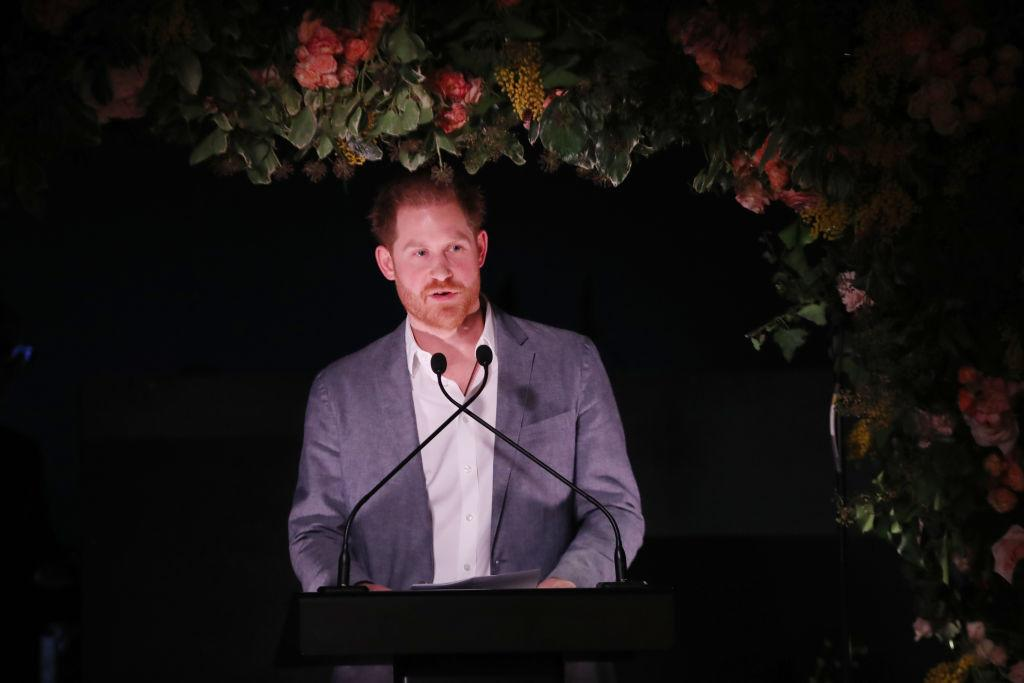Prince Harry spoke for the first time following Buckingham Palace releasing details about the terms surrounding the couple's future [Photo: Getty]