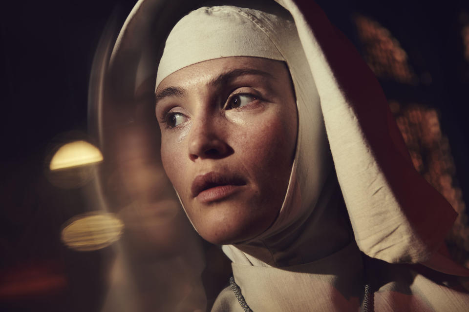 Black Narcissus - Picture Shows:  Sister Clodagh (GEMMA ARTERTON) - (FX Productions - Photographer: Pari Dukovic)
