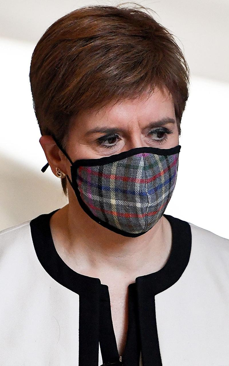 Nicola Sturgeon is under mounting pressure over 'unfair' restrictions that target young people - Jeff J Mitchell/Getty