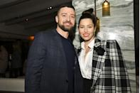 """<p>The powerhouse couple both took to Instagram to share their support for the Democratic nominees. """"What a historic moment for women of color, little girls with big dreams, and mothers everywhere. We are cheering for you,"""" Biel posted on social media after news broke that Harris was Biden's VP pick. </p>"""
