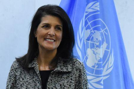 White House backs Haley, Tillerson on Syria's Assad