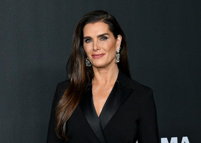 NEW YORK, NEW YORK - NOVEMBER 12: Brooke Shields attends MoMA's Twelfth Annual Film Benefit Presented By CHANEL Honoring Laura Dern on November 12, 2019 in New York City. (Photo by Craig Barritt/Getty Images for MoMA)