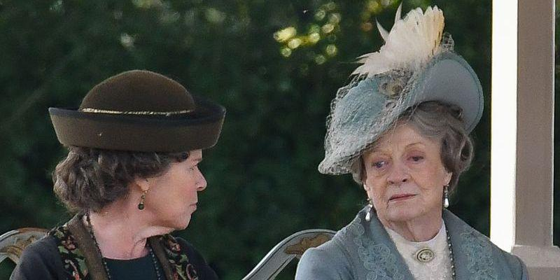 """<p><a href=""""https://www.townandcountrymag.com/leisure/arts-and-culture/a23480497/maggie-smith-downton-abbey-movie-set-photos/"""" rel=""""nofollow noopener"""" target=""""_blank"""" data-ylk=""""slk:More on her return to the series here."""" class=""""link rapid-noclick-resp"""">More on her return to the series here. </a></p>"""