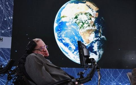 The late Stephen Hawking - Credit: Reuters