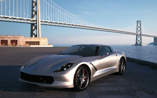 C7 Chevrolet Corvette rendering