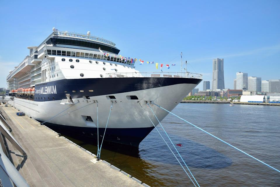 The Celebrity Millennium ship on a previous voyage (Getty Images)