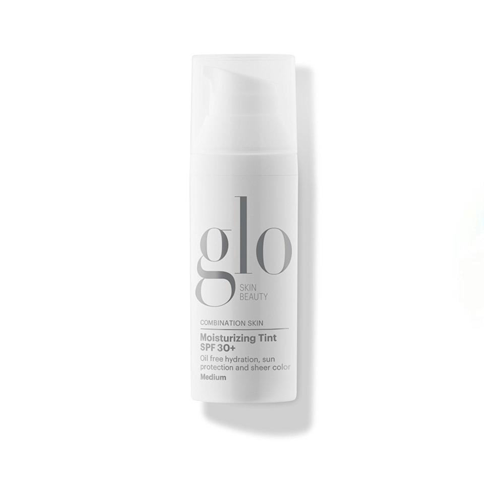 """This is my favorite tinted moisturizer <em>ever</em>. I've been using it for years. It goes on my skin so nicely and evens everything out, all while being supremely lightweight. Plus, the bottle lasts forever. —<em>E.W.</em> $46, Glo Skin Beauty. <a href=""""https://shop-links.co/1739244200381213419"""" rel=""""nofollow noopener"""" target=""""_blank"""" data-ylk=""""slk:Get it now!"""" class=""""link rapid-noclick-resp"""">Get it now!</a>"""