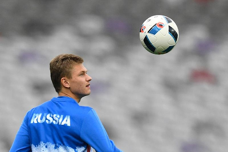Oleg Shatov gave Zenit the lead in the 22nd minute against Ural Yekaterinburg