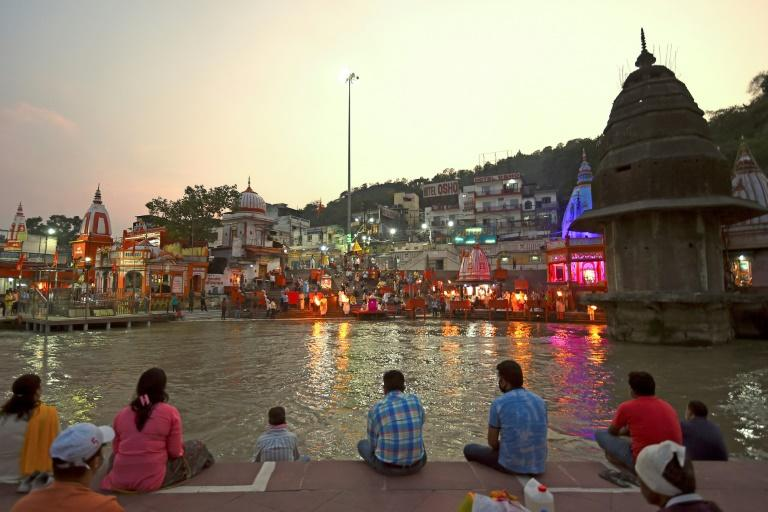Life is slowly returning to normal among the hallowed temples of Haridwar, one of Hinduism's holiest places (AFP Photo/Money SHARMA)