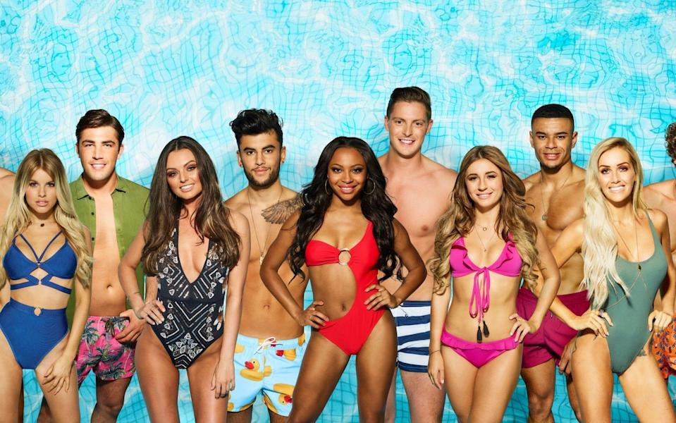 The new contestants are about to enter the Love Island villa. (ITV)