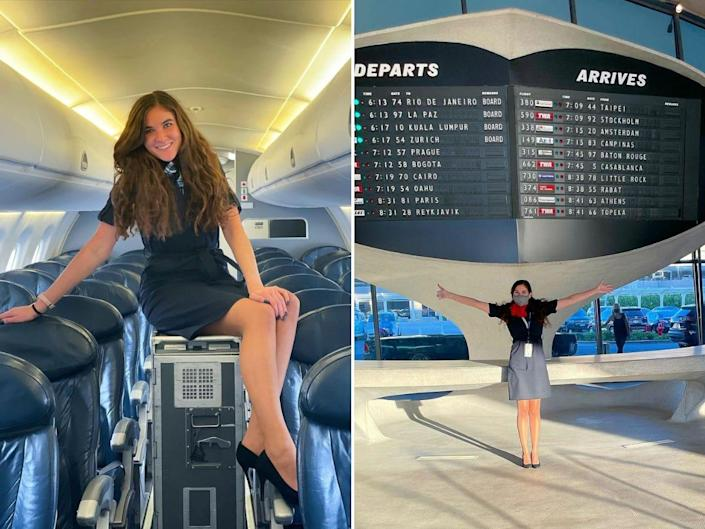 Cierra is a flight attendant based out of New York City.