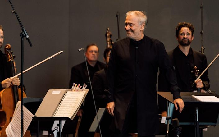 Peculiar conducting style: Valery Gergiev with the Royal Scottish National orchestra - Ryan Buchanan