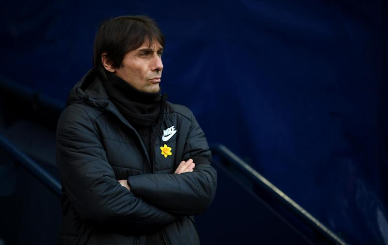 Wanted man: L'Equipe say Antonio Conte is PSG's No1 choice: Getty Images
