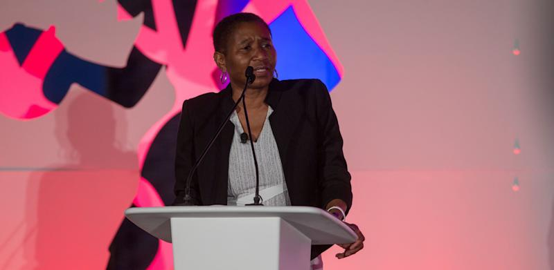 Michele Roberts says there is a double standard regarding what team executives and players can say publicly. (AP)