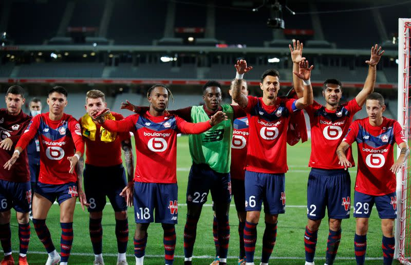Lille beat Nantes 2-0 to go top in Ligue 1