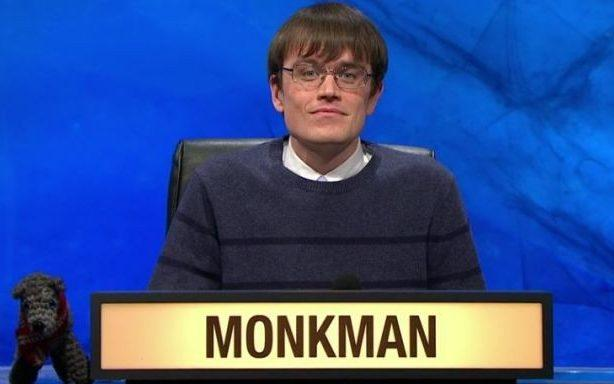 Eric Monkman University Challenge - Credit: BBC
