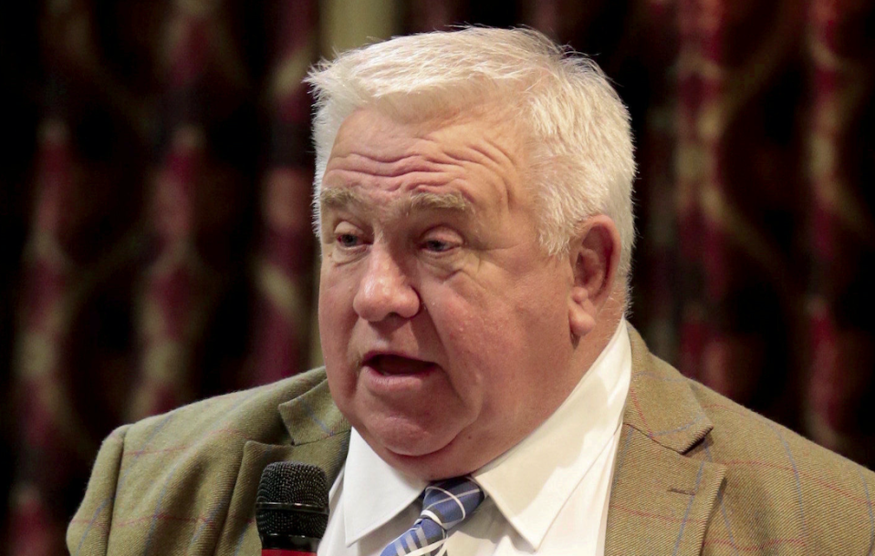 Fergus Wilson has been banned for life from contacting his local council directly after a 10 year campaign of abuse. (SWNS)