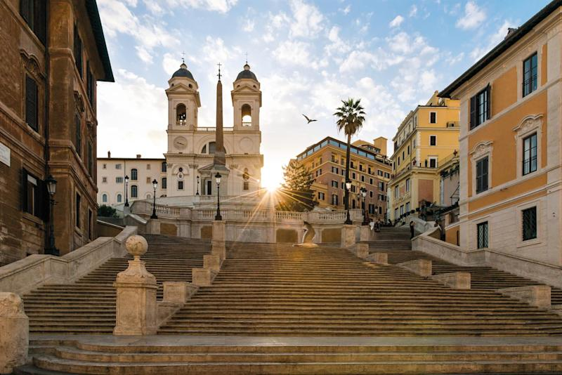 The romance and history of Rome is impossible to resist: The Hassler