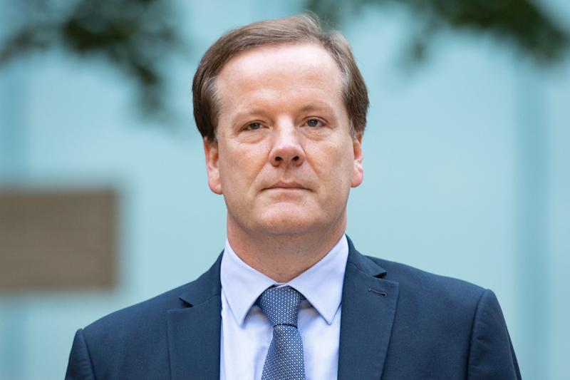 RETRANSMITTED CORRECTING DATE Former Conservative MP Charlie Elphicke arriving at Southwark Crown Court in London where he is on trial accused of three counts of sexually assaulting two women.