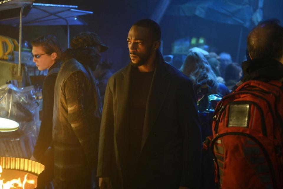 "Anthony Mackie in ""Altered Carbon"" season 2."