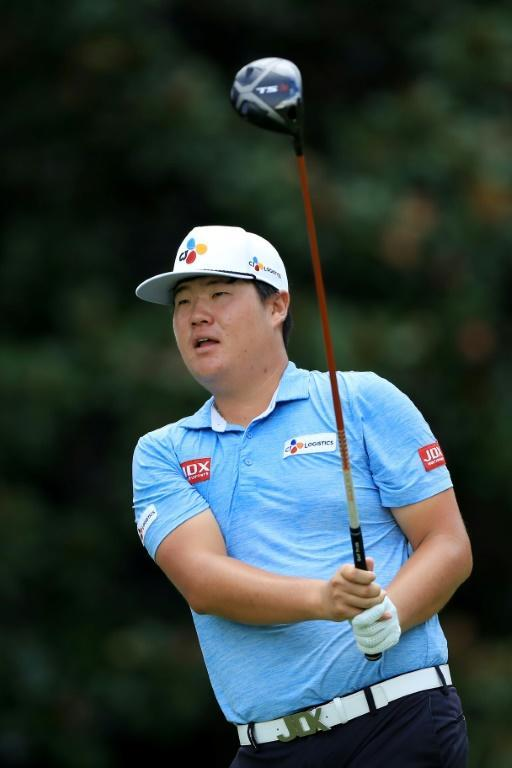 South Korean Im Sung-jae, playing here at the US PGA Tour Championship, heads into the 2019-2020 season at The Greenbrier buoyed by his Rookie of the Year award (AFP Photo/SAM GREENWOOD)