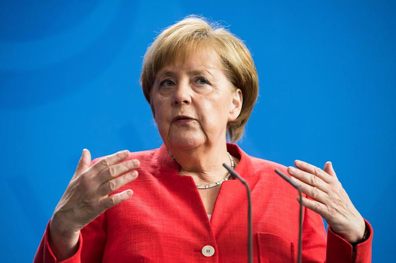 Chancellor Angela Merkel's Germany is not suffering a flood of immigrant-related crime.