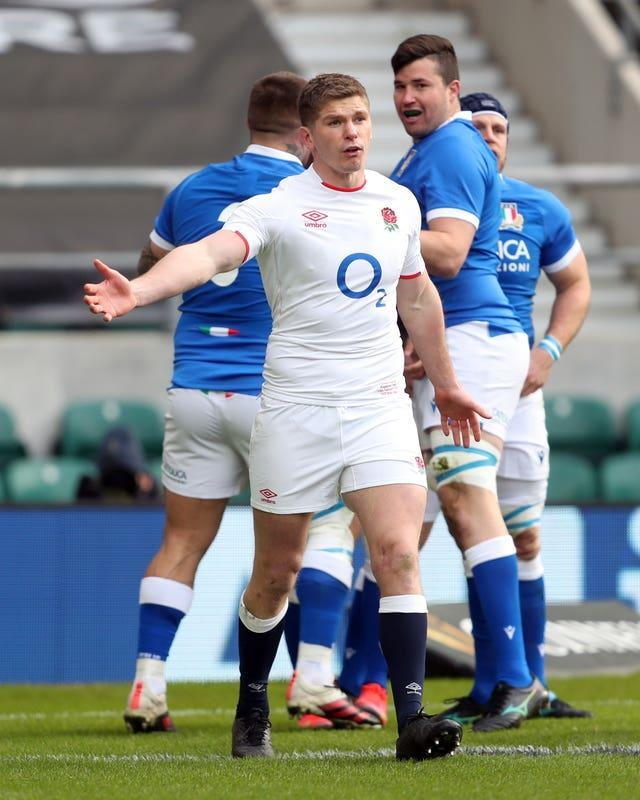 England captain Owen Farrell is struggling for form