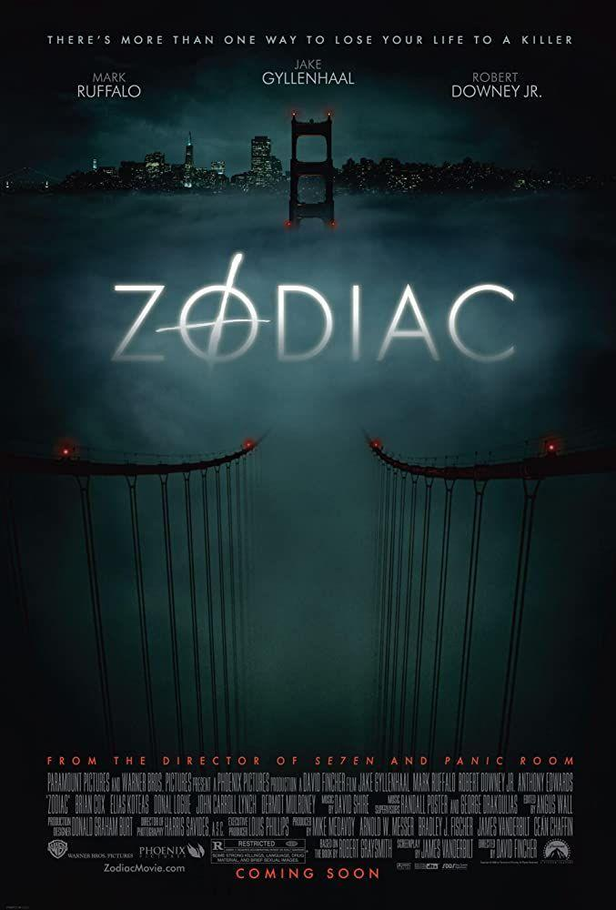"""<p>True crime lovers, listen up. From the late 1960s to the '70s, the still-a-mystery Zodiac Killer murdered victims across Northern California and delivered way too many creepy letters. The search for the serial killer inspired this flick starring Jake Gyllenhaal, Mark Ruffalo, and Robert Downey Jr.</p><p><a class=""""link rapid-noclick-resp"""" href=""""https://www.netflix.com/title/70044686"""" rel=""""nofollow noopener"""" target=""""_blank"""" data-ylk=""""slk:Watch Here"""">Watch Here</a></p>"""