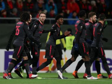 Europa League: Arsenal stroll past Swedish minnows Ostersunds; Michy Batshuayi rescues Borussia Dortmund in first leg