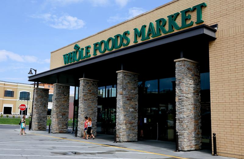 This is a Whole Foods Market in Upper Saint Clair, Pa., Wednesday, Aug. 8, 2018. (AP Photo/Gene J. Puskar)