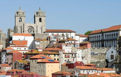 Porto's old town and cathedral - Credit: Getty