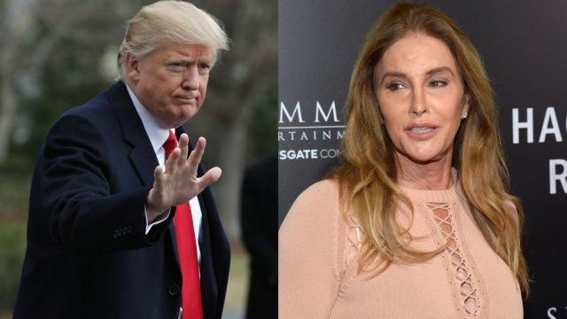 Caitlyn Jenner tells Donald Trump to call her over transgender bathrooms 'disaster'