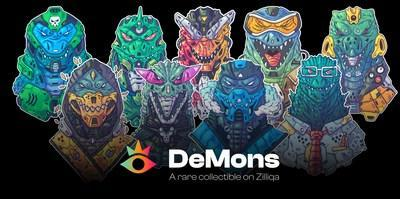 DeMons: A rare collectible on Zilliqa