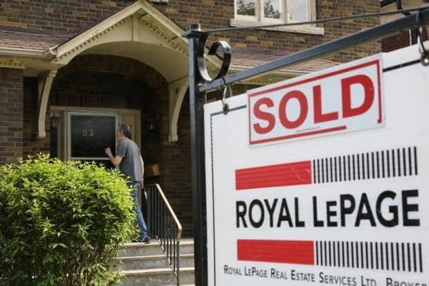 Canada's housing market has been red hot throughout the pandemic, and while the number of sales is starting to slow, so far there hasn't been a sharp pullback in prices. (Chris Helgren/Reuters - image credit)