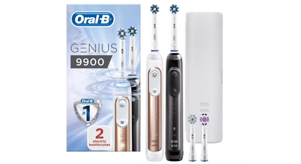 Oral-B Genius 9900 Electric Toothbrush - Duo Pack