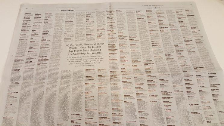 Ny times dating list
