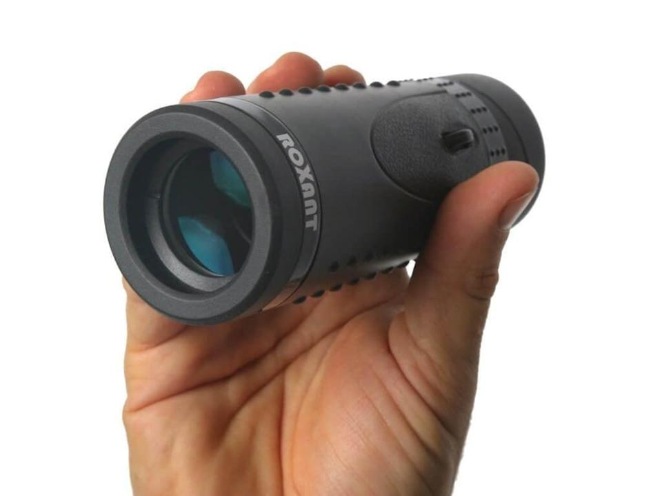 <p>If he loves camping, this <span>Authentic Roxant Grip Scope High Definition Wide View Monocular</span> ($40) could be useful on his next trip.</p>