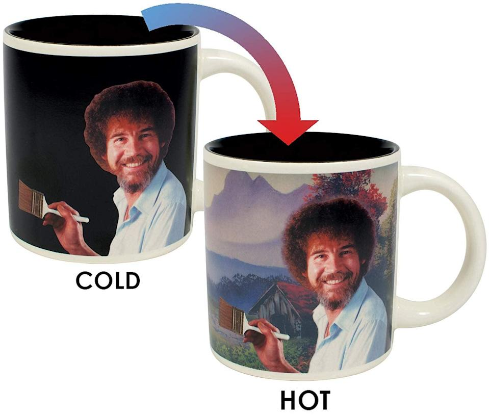 <p>If this <span>Bob Ross Heat Changing Mug</span> ($16) doesn't make you smile, we don't know what will.</p>