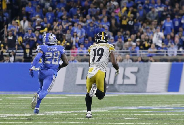 JuJu Smith-Schuster is on a roll. (AP)